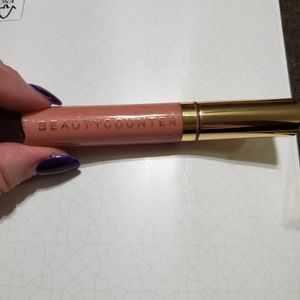 Bare shimmer Beautycounter lip gloss